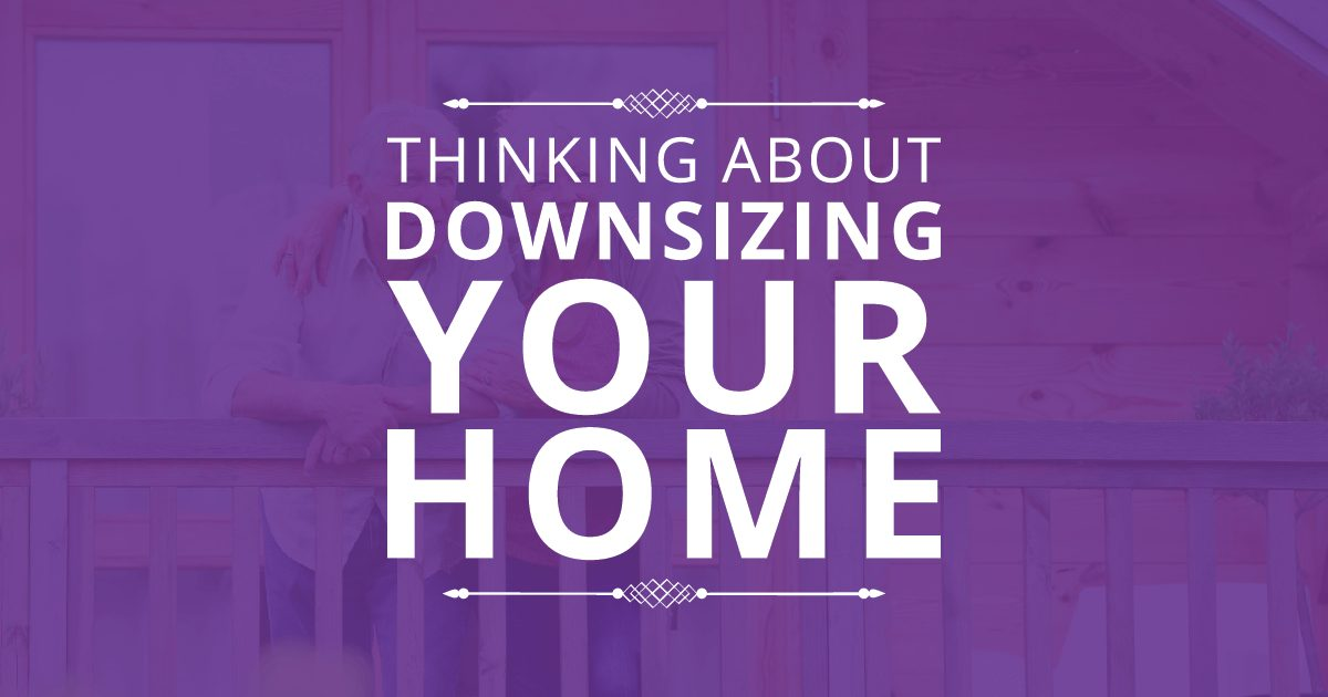 Downsizing Your Home